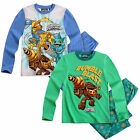 Boys Skylanders Giants Pyjamas Kids PJ Set Top Long Trousers New Age 6 -12 Years