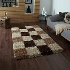 SHAGGY THICK 5cm PILE RUGS SMALL LARGE SIZE NEW SOFT STYLE MODERN NON SHEDDING