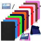 Folio Leather Stand Case Cover for Samsung Galaxy Tab 3 /Tab 4 10.1 inch Tablet