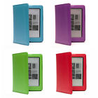 PREMIUM PU LEATHER CASE COVER WITH AUTO WAKE/SLEEP SUPPORT FOR KOBO AURA 6""