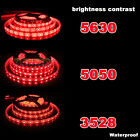 Waterproof Super Bright 5M 3528 5050 5630SMD 300 LED Flexible Strip light 12V US