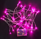 Pink 3M/30 5M/50 LED AA Battery String Fairy Lights Xmas Wedding Party Decor