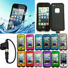 Waterproof Shockproof Fingerprint Scanner Full Case Cover for Apple Iphone 5 5S