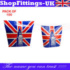 NEW UNION JACK CARRIER BAG PRINTED STRONG HANDLE RETAILS BAGS SHOPPING BAGS