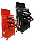 Mechanics 8 Drawer Tool Box Chest Roller Cabinet Smooth Sliding Draws Wheeled