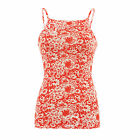 AG9 Womens Ladies Strappy Floral Summer Cami Vest Tank Top Shirt Blouse