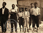 1911 AFRICAN AMERICAN CHILD LABOR VIRGINIA GLASS FACTORY PHOTO Largest Sizes