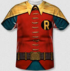 New Robin Burt Ward Classic Costume All Over Front Sublimation Youth T-shirt top