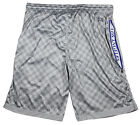 Zipway NBA Men's Big & Tall Los Angeles Clippers Checkered Shorts, Gray