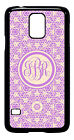 Personalized Monogram Floral Lace for Samsung Galaxy S3 S4 S5 Note 2 3 M227