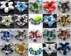 5Pcs Colorful Crystal Glass Beadss Fit European Charms Bracelet An1506