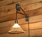 Large Pulley Wall Mount FOR YOUR Pendant Light  - Industrial Pulley Mount Only