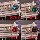 14k Gold Filled Women Crystal Pendant Elephant Dress Chain Necklace In 4 Colors