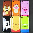 1 x Cartoon Winnie Tiger Mickey Hard Back Case Skin Cover for iPhone 3G