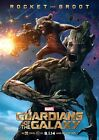 Movie Poster Print - Guardians of the Galaxy - Rocket andd Groot A3 / A4