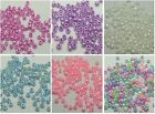 800 Pcs (60 grams) Ceylon Glass Seed Beads Rondelle 4mm (6/0) Pick Your Color