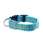 NEWLY Adjustable Pets Dogs Cat Harness Flashing Light Up Collar LED Neck Strap