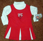 CHICAGO BULLS CHEERLEADING OUTFIT, Sizes 0-3M or 6-9M