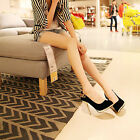 Free S/H Sexy Women's Faux Suede High Heels Pumps Shoes US Size:5-8.5 DS044
