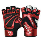 RDX Weight Lifting Training Gym Gloves Fitness Workout Crossfit Bodybuilding RD