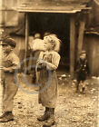 1912 LITTLE BERTHA OYSTER SHUCKER CHILD LABOR PHOTO Lewis Hine