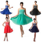 Sexy Short Mini A-Line Homecoming Cocktail Evening Prom Dress Ball Formal Party
