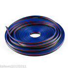 RGB 5m/10m/20m LED Flexible Strip Light Extension Cable 4-Pin Line Cord Wire