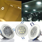 3W 7W 12W LED Downlight Ceiling Recessed Light Lamp Warm Pure White Bulbs UK P&P