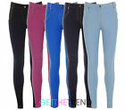 LADIES WOMENS HIGH WAISTED BUTTON ZIP UP DENIM JEGGINGS WITH POCKETS SIZES 8-14