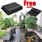 Non-toxic 100% PVC FREE Heavy Duty Pond Fish Pool Liner With FREE underlay