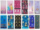 KIDS GIRLS BOYS ROOM DARKENING WINDOW CURTAINS DRAPES - Sold as single panel