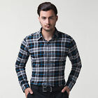 Multi Colors Collared Cotton Mens Muscle Tops Dress Shirts Basic Formal Shirts