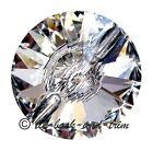 GENUINE Swarovski© CRYSTAL 3015 CLEAR BUTTON 16 18 23 27mm