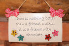 Handcrafted Wooden personalised plaque sign  Best Friend Mum Nan Gift present.