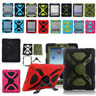 For Apple iPad 2 3 4 5 Air Mini Waterproof Shock Dirt Proof Rugger Stand Case