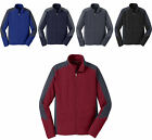 MEN'S MICROFLEECE, FULL ZIP, JACKET, POCKETS, STAND COLLAR, S M L XL 2X 3X 4X