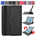 "Universal AR1 360 Rotating Folding Folio Stand Cover fits 9.7"" Tablet E-Reader"