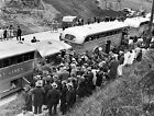 1942 JAPANESE INTERNMENT SEATTLE GREYHOUND BUS PHOTO Largest Sizes