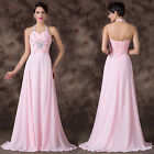 Quinceanera Formal Ballgown Wedding Evening Prom Cocktail Party Bridesmaid Dress
