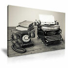 ART VINTAGE 1 Canvas Framed Printed Wall Art - More Size