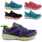 NEW LADIES RUNNING TRAINERS SHOCK ABSORBING CASUAL LACE UP SNEAKERS SHOES UK 3-8