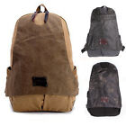 Men's Cotton Canvas Shoulders Casual Bag Backpack Rucksack Travel School Bag Hot