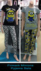 Primark DESPICABLE ME MINIONS Pyjamas Sets T shirt with lounge pants or leggings