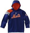 (YOUTH KIDS BOYS 8-20) ADIDAS MLB Long Sleeve Popover Hoodie Jacket