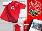S M  XL XXL ENGLAND NIKE OFFICIAL RUGBY AWAY SHIRT jersey NEW Tags Polyester