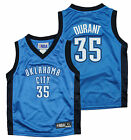 NBA Kids / Youth Oklahoma City Thunder Kevin Durant #35 Dazzle Jersey - Blue