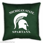 Michigan State Spartans Toss Pillows Single or Pair Throw Pillow