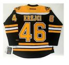 DAVID KREJCI BOSTON BRUINS REEBOK PREMIER JERSEY