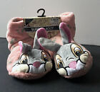 Primark DISNEY THUMPER Rabbit Bunny Cartoon Slipper Boots Cosy Fleece lined