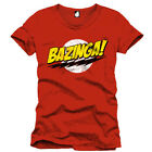 The Big Bang Theory T-Shirt Bazinga rot (NEU)